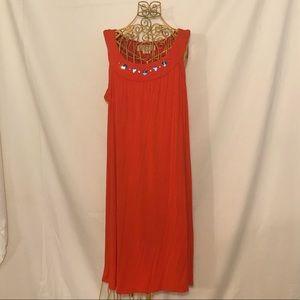 Michael Kors dress, orange-red color